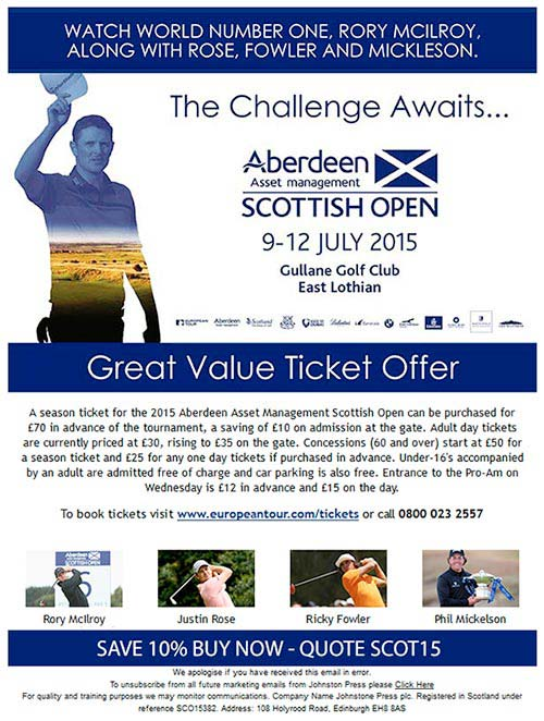 Scottish Open 2015